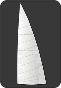 dacron gewoven polyester grootzeil Quantum Sails