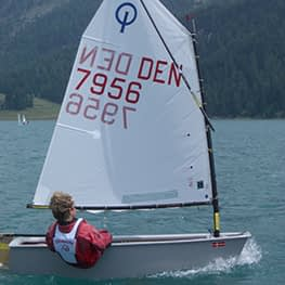 optimist zeil radial green zeil quantum sails
