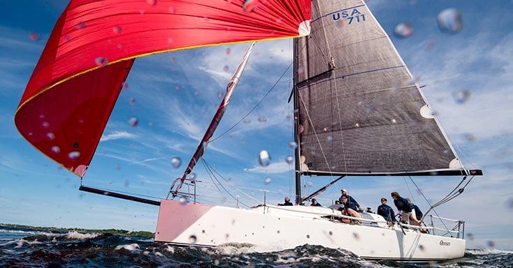 wedstrijdgennaker quantum sails