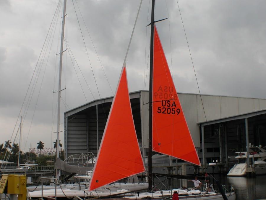 storm tuigage quantum sails