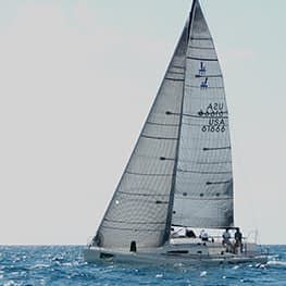 light jib fok j/111 quantum sails