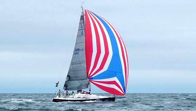 gennaker j/109 quantum sails