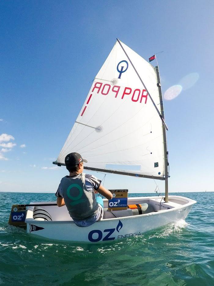 Optimist zeil Quantum sails
