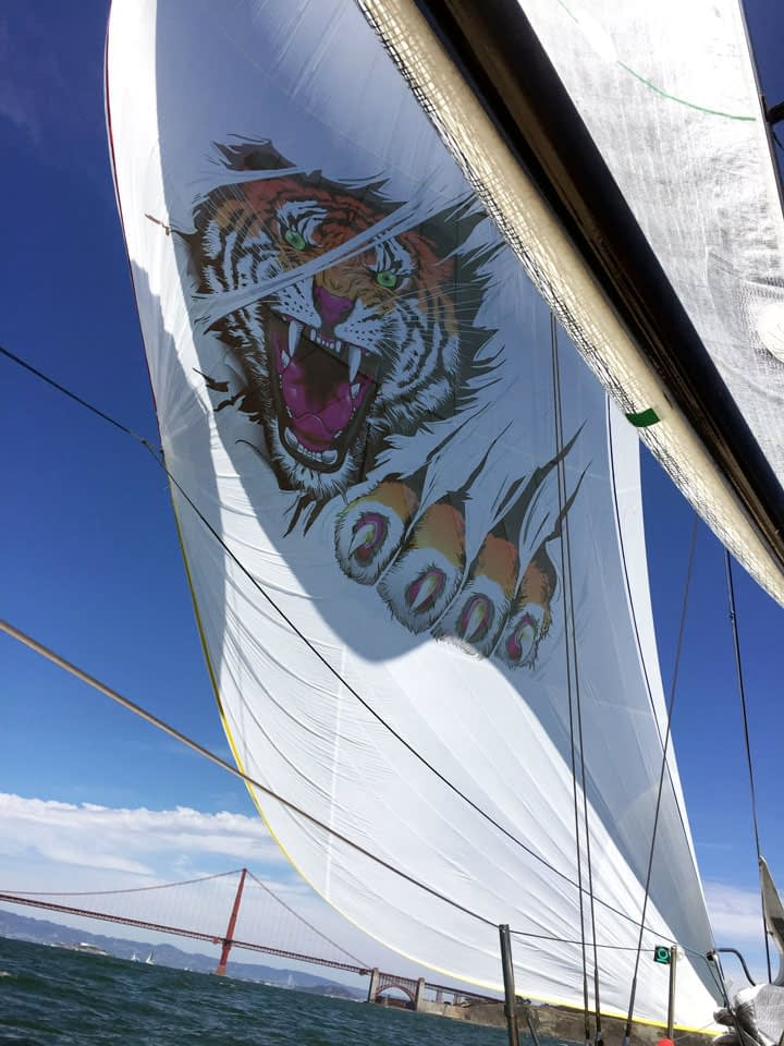 logo afbeeldingen printen zeilen spinnaker gennaker quantum sails