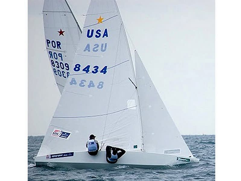 wedstrijdgrootzeil cross cut quantum sails